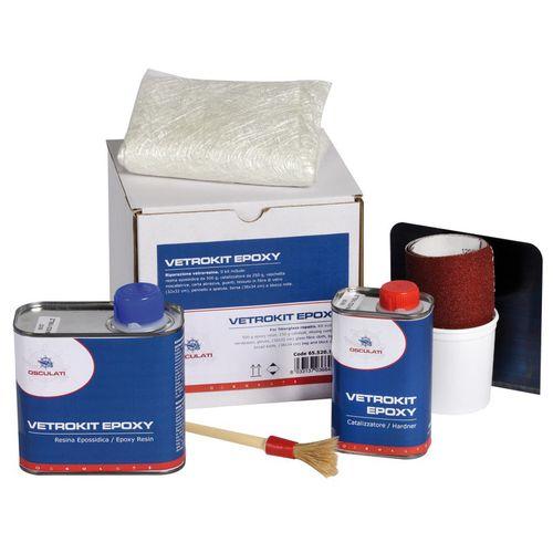 kit de réparation à base de résine époxy