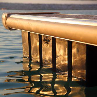 flotteur pour ponton