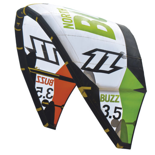 Aile de kitesurf C-shape / d'initiation BUZZ North Kites