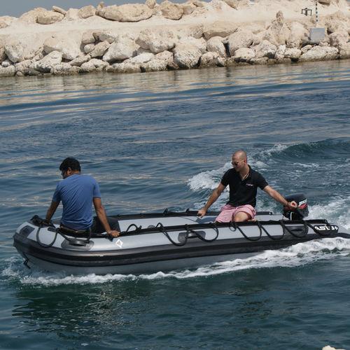Bateau militaire hors-bord / bateau pneumatique / pliable Military 4.2 ASIS BOATS