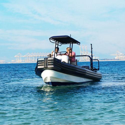 Bateau de travail hors-bord / bateau pneumatique Marina Operations RHIB 8.0 ASIS BOATS