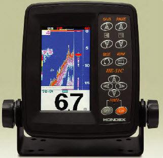 écho-sondeur numérique / pour bateau / multifaisceau