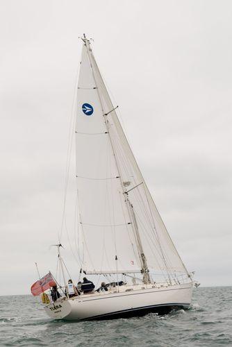 Grand-voile / pour voilier de croisière / coupe horizontale / Dacron® SHORT Jeckells