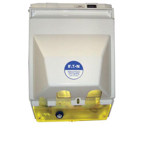 borne avec éclairage intégré / de distribution électrique / pour ponton / à LED