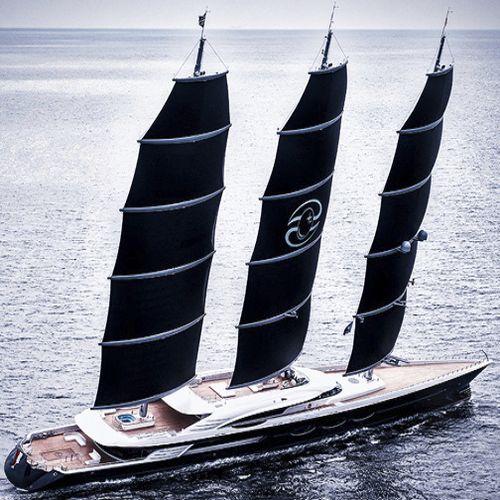 sailing-superyacht de croisière