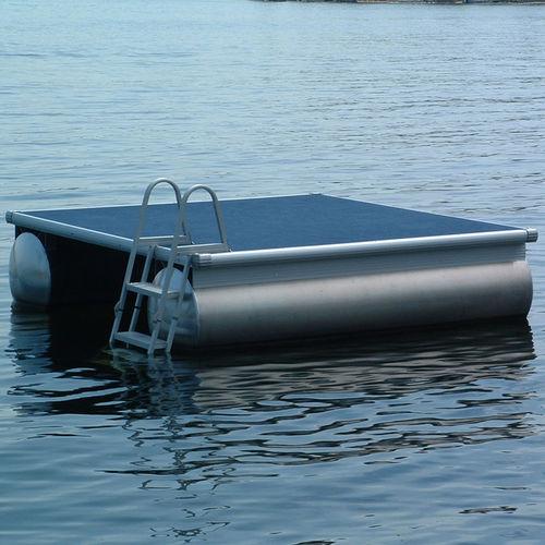 plateforme pour base de loisirs / de baignade