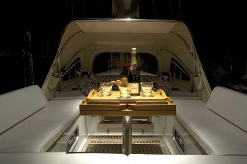 caillebotis pour voilier / pour cockpit
