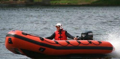 Bateau de sauvetage hors-bord / bateau pneumatique NAV 16 Nautic & Art