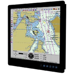 moniteur marin / multifonction / système de navigation / de contrôle