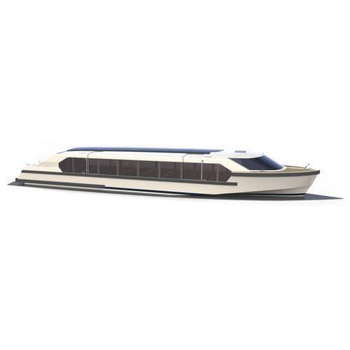 bateau promenade / bateau de sauvetage / bateau de débarquement / électrique