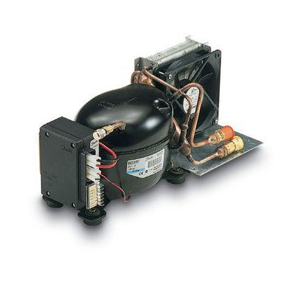 groupe froid pour bateau pour réfrigérateur / ventilation horizontale