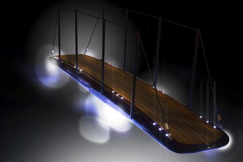 éclairage pour passerelle / d'extérieur / pour bateau / pour yacht