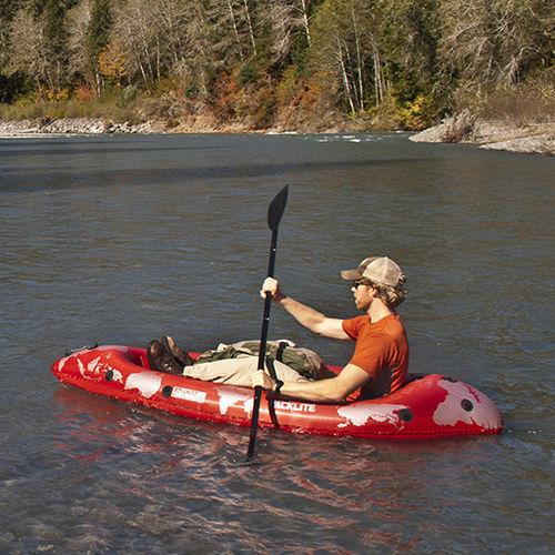 kayak sit-on-top / gonflable / de loisir / monoplace