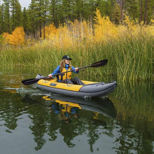 kayak sit-on-top / gonflable / de loisir / 2 places