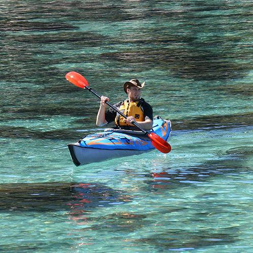 kayak gonflable / pour expédition / monoplace