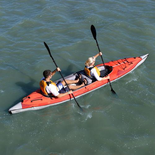 kayak gonflable / pour expédition / biplace