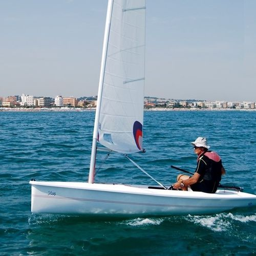 Dériveur solitaire / de loisir / cat boat X 14' CNA Cantiere Nautico