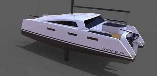 catamaran / de croisière / à cockpit fermé / 1 cabine