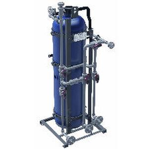 système de traitement eau potable / pour navire / par osmose inverse