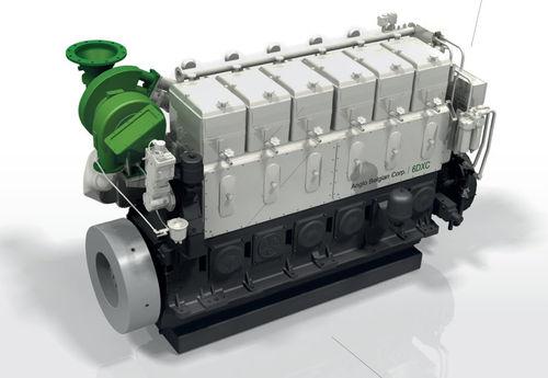 Moteur pour navire / de propulsion / semi-rapide / diesel DX series Anglo Belgian Corporation