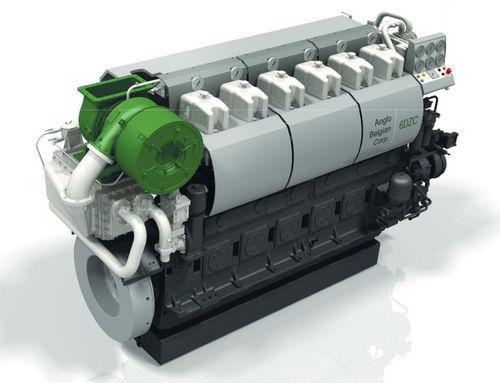 Moteur pour navire / auxiliaire / semi-rapide / diesel DZ series Anglo Belgian Corporation