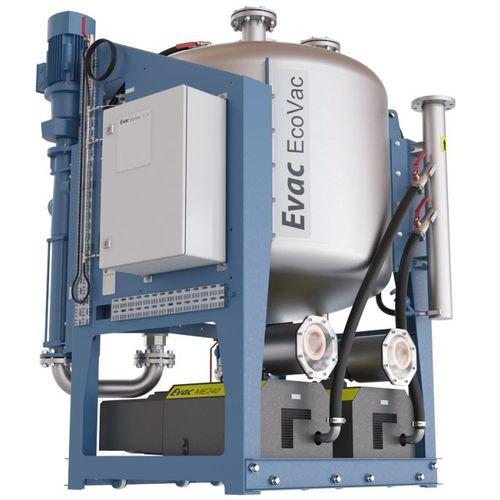 réservoir d'eaux usées / de vide / pour navire / autoportant