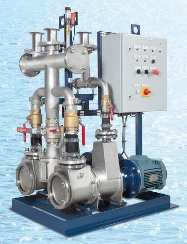 pompe à vide pour navire / pour WC / électrique