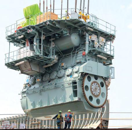 moteur diesel pour navire / Tier 1