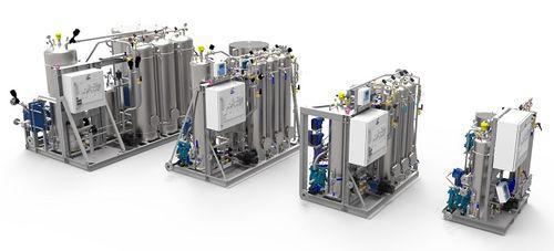 Système de traitement des eaux de cale / pour navire OWS CD Marinfloc