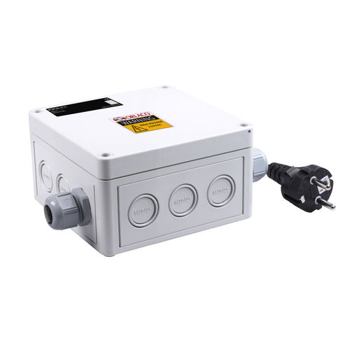 boîte de jonction électrique / pour navire