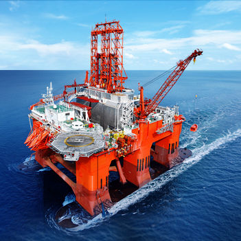 navire de service offshore de ravitaillement de plate-formes - PSV / catamaran