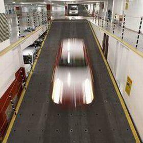 pont voiture Ro-Ro / avec système de levage intégré