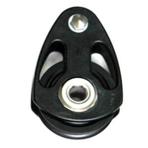 poulie à roulement à billes / simple / cordage max. : 19 mm / pour sailing-yacht
