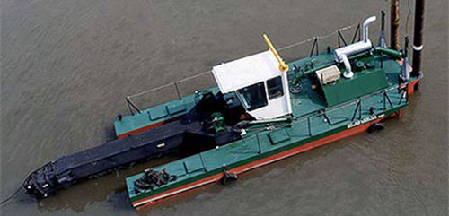 navire spécial drague / côtier