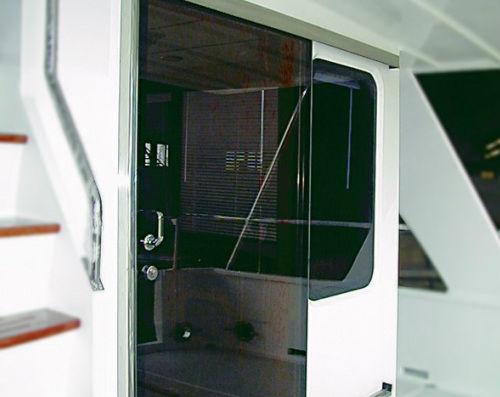 Porte Coulissante  Pour Bateau  Vitre  Man Ship Machinery