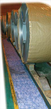 absorbeur d'hydrocarbure / rouleau