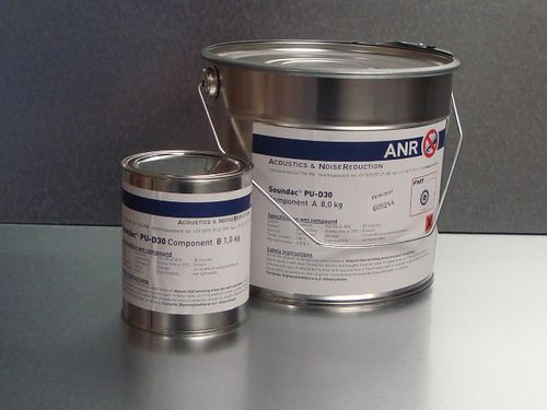 peinture en polyuréthane / pour isolation phonique