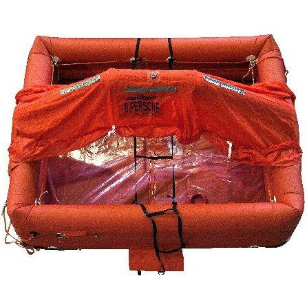 radeau de survie pour navire / ISO 9650-2 / ISO 9650-1 / gonflable