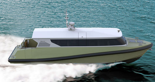 bateau taxi / in-bord