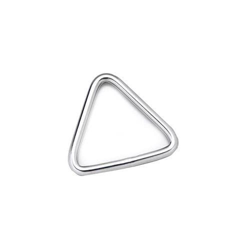 anneau pour voilier / en triangle / en inox