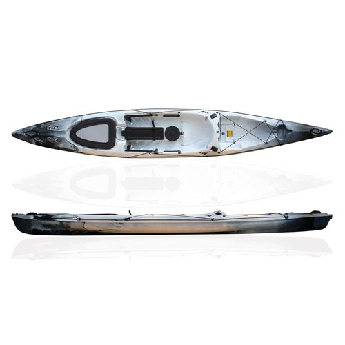 Kayak sit-on-top / de pêche / de course / 1 place RYTMO PECHE RTM Fishing