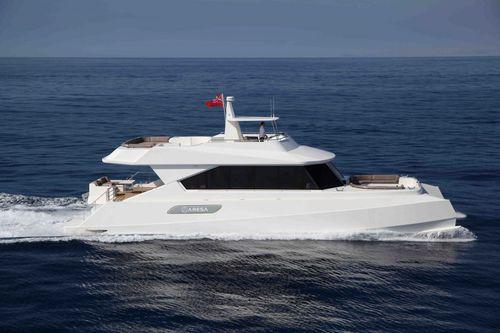 Motor-yacht catamaran / de croisière / à fly / PRV 2100 Cat Grup Aresa Internacional
