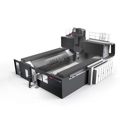 centre d'usinage CNC / vertical / à grande vitesse / fraiseur