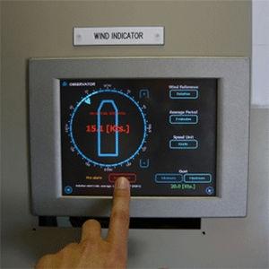 anémomètre / marin / numérique / fixe