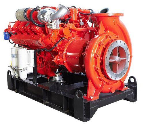 pompe marine / pour navire / de transfert / pour système de lutte contre le feu