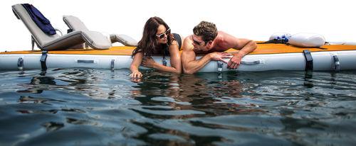 plateforme pour yacht / de baignade / pour jet-ski / gonflable