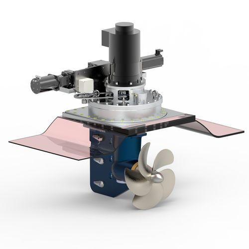 propulseur azimutal / pour navire / électrique / hydraulique