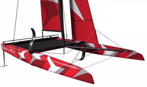 catamaran / quillard de sport / monotype / cockpit ouvert