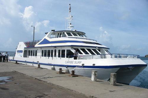 navire à passagers pour excursion touristique / catamaran