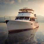 motor-yacht de croisière / traditionnel / à fly / 3 cabines